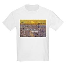 Vincent Van Gogh Paintings Kids T-Shirt