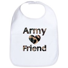 Army Friend Heart Camo Bib