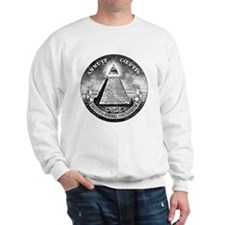 Weird Dollar Pyramid Sweatshirt