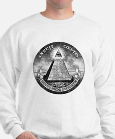 Weird Dollar Pyramid Sweatshirt