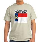 Not Our Duty North Carolina Ash Grey T-Shirt
