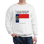 Not Our Duty North Carolina Sweatshirt