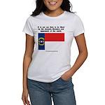 Not Our Duty North Carolina Women's T-Shirt