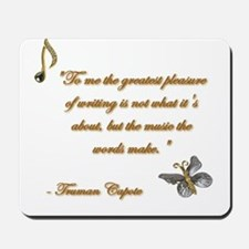 Music of Words Mousepad