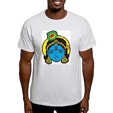 Krishna Nonvintage Ash Grey T-Shirt