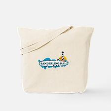 Surf City NC - Surf Design Tote Bag