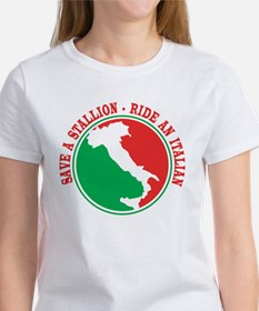 Ride an Italian! Women's T-Shirt