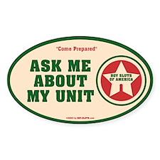 Unit sticker