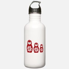 Riyah-Li Designs Nesting Dolls Three Water Bottle