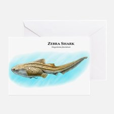 Zebra Shark Greeting Card