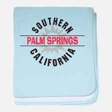 Palm Springs California Infant Blanket