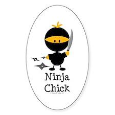 Ninja Chick Decal