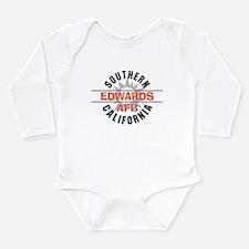 Edwards Air Force Base Long Sleeve Infant Bodysuit