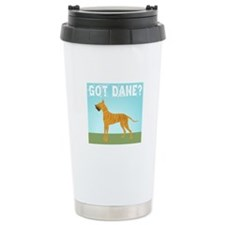 Brindle Great Dane Travel Mug