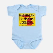Michigan Terrorist Hunting Li Infant Bodysuit