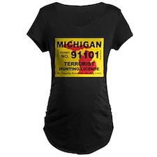 Michigan Terrorist Hunting Li T-Shirt