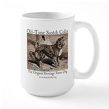 Large Scotch Collie Mug