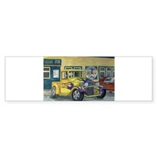 Cute Antique truck Bumper Sticker