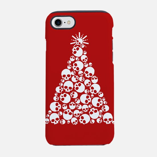 Skull Christmas Tree iPhone 7 Tough Case