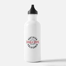 Chula Vista California Water Bottle