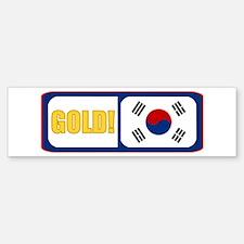 South Korea (English) Bumper Bumper Bumper Sticker
