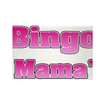 Bingo Mama Rectangle Magnet (100 pack)