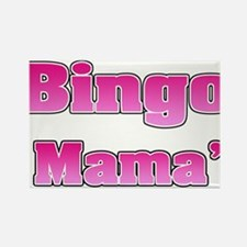 Bingo Mama Rectangle Magnet