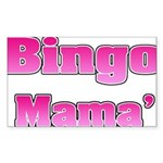 Bingo Mama Sticker (Rectangle 50 pk)