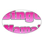 Bingo Mama Sticker (Oval 10 pk)