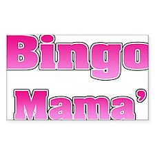 Bingo Mama Decal