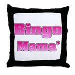 Bingo Mama Throw Pillow