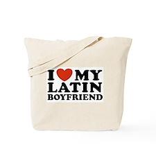 I Love My Latin Boyfriend Tote Bag