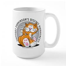 Parkinson's Disease Cat Mug