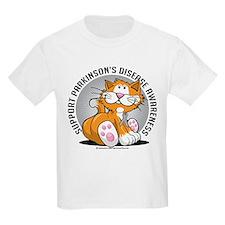 Parkinson's Disease Cat T-Shirt