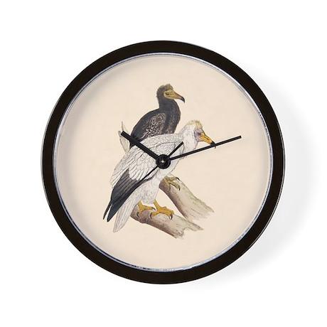 Egyptian Vulture Wall Clock