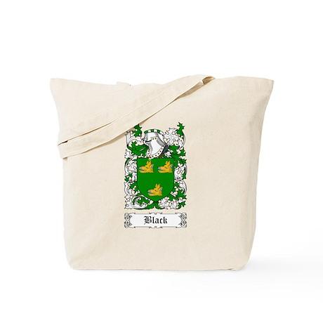 Black [Scottish] Tote Bag