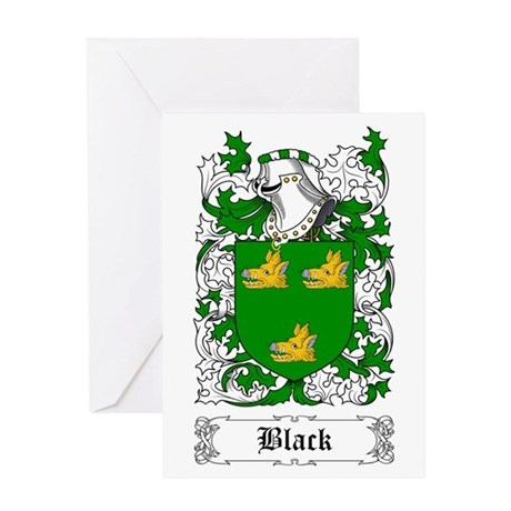 Black [Scottish] Greeting Card