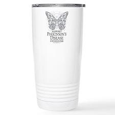 Parkinson's Disease Butterfly Travel Mug