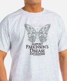 Parkinson's Disease Butterfly T-Shirt