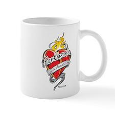 Parkinson's Tattoo Heart Mug