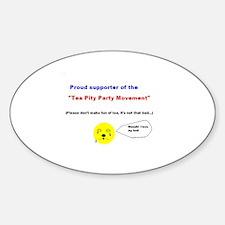 Cute Pity Sticker (Oval)