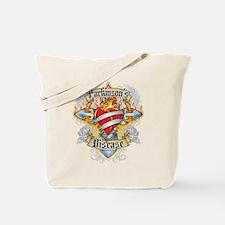 Parkinson's Disease Cross and Tote Bag