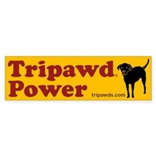 Tripawds Car Sticker