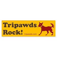 Tripawds Car Sticker