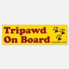 Tripawds Bumper Bumper Sticker