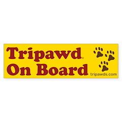 Tripawds Bumper Sticker