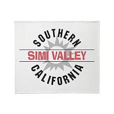 Simi Valley California Throw Blanket