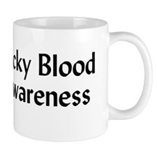 Sticky Blood Awareness Mug