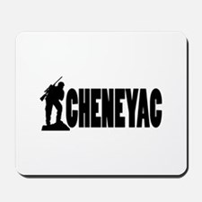 Dick the Cheneyac Mousepad