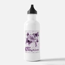 Lupus Awareness Water Bottle